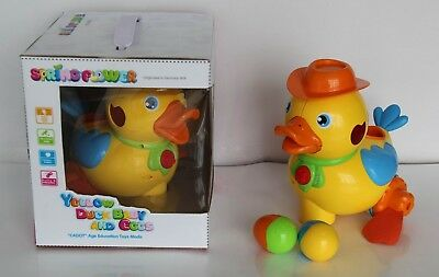 Yellow Duck Music Sound Light Electronic Learning  Education Baby Toys gift
