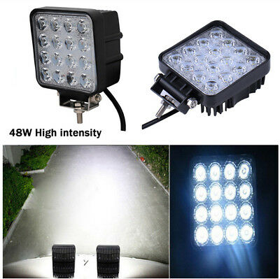 4'' 48W Car SUV Roof Projector Lens Flood High Intensity White Led Work Light