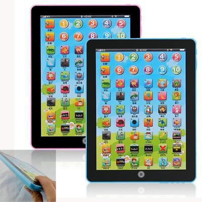 Kids Learning English Tablet Teach Pad Educational Toy Fun Gift For Girl/Boy AC
