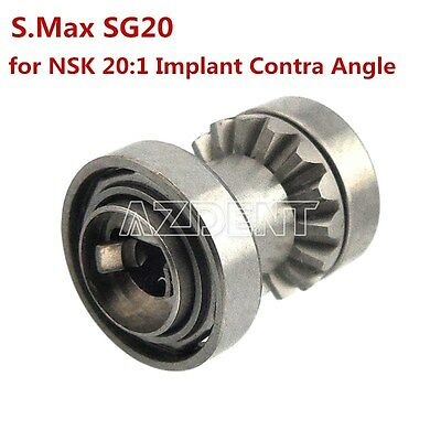 Dental Turbines Cartridge for NSK 20:1 Implant Contra Angle S.Max SG20 Handpiece