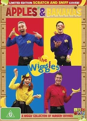 The Wiggles - Apples And Bananas (DVD, 2014, Region 4) ABC Kids NEW & SEALED