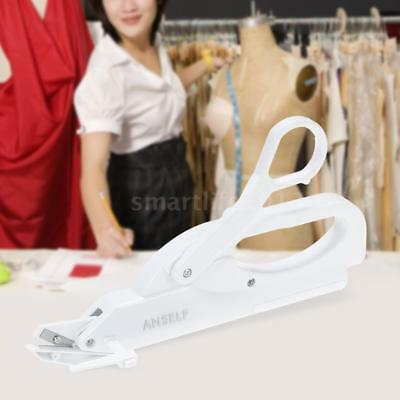 Handheld White Scissors Electric Autom Fabric Sewing Cutting Machine White W7K2