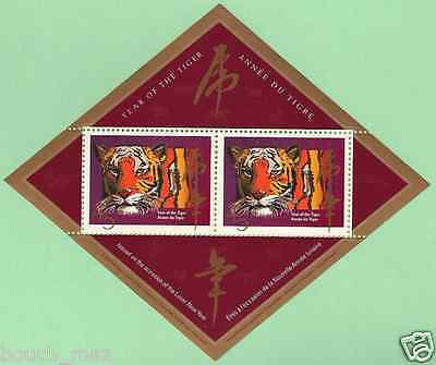 Canada - Souv. Sheet - Chinese / Lunar New Year: Year of the Tiger #1708aii MNH