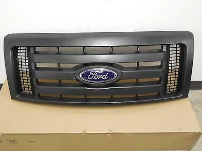 2009-2014 F-150 OEM Genuine Ford Parts XL Model Black Grille Grill w/Emblem NEW