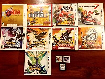 3DS and DS Games - Big Selection - NEW GAMES UPDATED! Zelda, Mario, Pokemon Etc