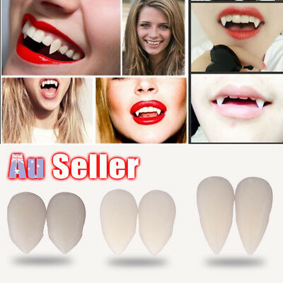 Fancy Halloween Costume Party Denture Teeth Werewolf Fangs Zombie Vampire