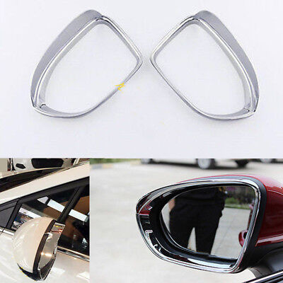 ABS Car Rearview Mirror Rain Eyebrow Cover Trim For Chevrolet Cruze 2017-2018