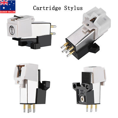 Audio Magnetic Cartridge Stylus with LP Vinyl Needle for Turntable Record Player