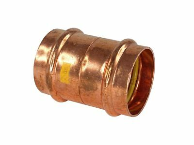 Conex Banninger B-PRESS GAS STRAIGHT CONNECTOR Copper- 32mm, 40mm Or 50mm