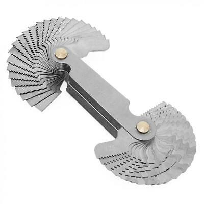 52 Blade Screw Pitch Thread Gauge for Measuring Imperial / Metric Nuts & Bolts
