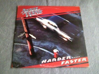April Wine - Harder Faster Vinyl LP - Original Inner Sleeve