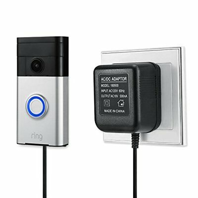Power Supply Adapter for The Ring Video Doorbell, Ring Video Doorbell 2 and