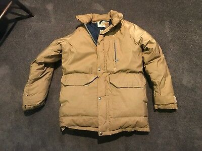 REDUCED ! VTG The North Face M Brown Label Tan Goose Down Puffer ... 91c543a12