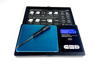 Pocket Professional Mini Digial Scale 200g Capacity + 0.01g Accuracy LCD Display
