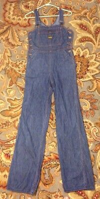 Vintage Turtle Bax Overalls Women's Size 9/10 Very Cool See Full Description