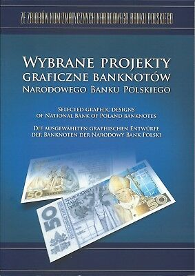 selected graphic designs of banknotes from the National Bank of Poland RARE
