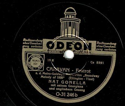 Nat Gonella and his Georgians : Caravan - Foxtrot  ( deutsche Pressung)