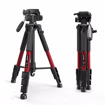 Professional Tripod Camera Head Travel Dslr Ball Zomei Monopod Canon Portable