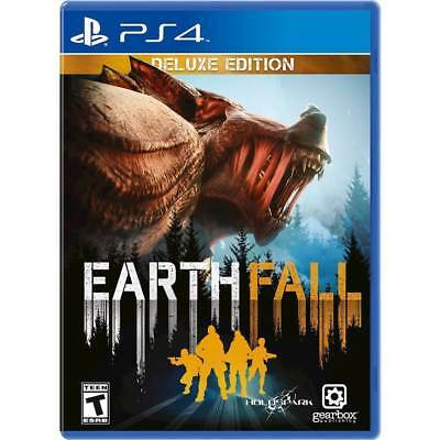 Earthfall Deluxe Edition USED SEALED (Sony Playstation 4, 2018)
