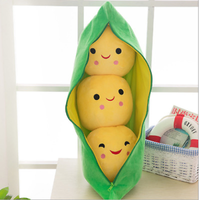 """New 8"""" Disney Store Toy Story Bean Bag Peas in a Pod Plush Toy"""