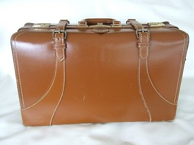 VTG 50's Carson Travelite Leather suitcase