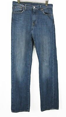 Levis 751 Mens Size 30x34  Straight Cut Light Weight Blue Jeans See Photos