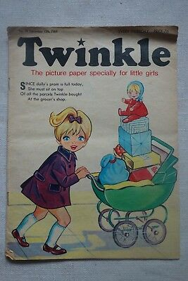Twinkle Comic Picture Paper for Little Girls No 99 December 13th 1969 Vintage