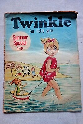 Twinkle Comic Picture Paper for Little Girls SUMMER SPECIAL 1970