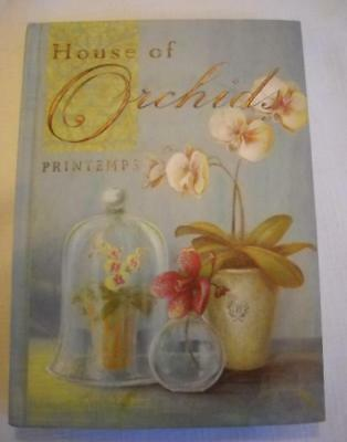 Personal Journal Diary ORCHIDS 200 Lined Pages /100 Sheets ULTIMATE KEEPSAKE