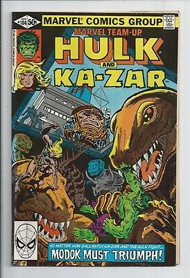 Marvel Team-Up #104: Very Fine 8.0 : Hulk and Ka-Zar
