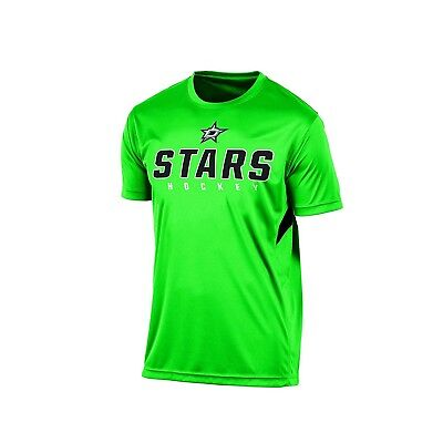 DALLAS STARS - MEN'S NHL Short Sleeve Performance T-Shirt Tee - GREEN XL