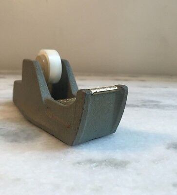 Vintage, Cast Iron Tape Dispenser, Industrial -Riverside Foundry- Made in USA!