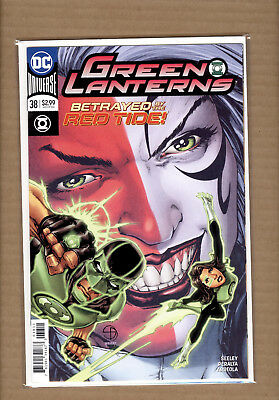 Green Lanterns #38  1St Appearance Red Tide First Print Dc Comics Nm