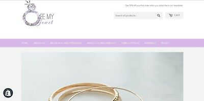 Highly Profitable Jewellery Ecommerce Online Dropshipping Website Business