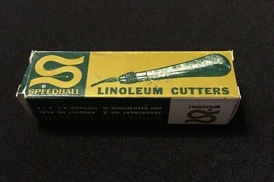 Speedball linoleum cutter No. 1 - 4131
