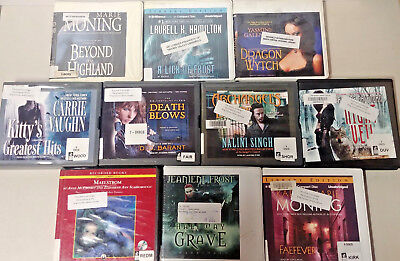 Fantasy Audio Books Lot of 10 on CD FREE SHIPPING Unabridged A-6