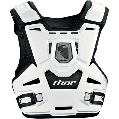Thor MX NEW Kids Sentinel CE Certified White Motorcross Youth Chest Protector