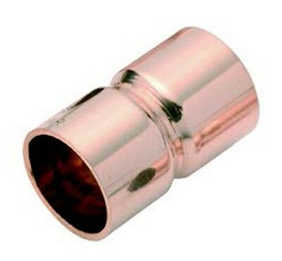 "Henry K65 COPPER STRAIGHT COUPLING - 3/8"", 7/8"" Or 1 1/8"""