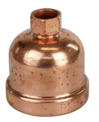 Conex Banninger B-PRESS GAS END CAP Copper, Flame Free- 65mm, 80mm Or 100mm