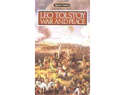 New ▰ War and Peace ▰ Translation: Ann Dunnigan SIGNET CLASSIC Paperback Tolstoy