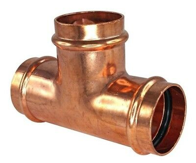 Conex Banninger B-PRESS WATER EQUAL TEE Copper- 25mm, 32mm, 40mm Or 50mm