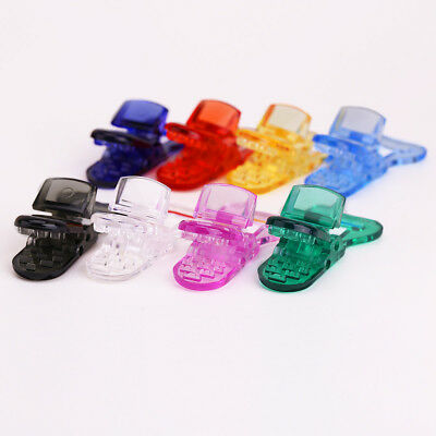 Plastic Clips Badge Baby Pacifier Soother Comforts Crafts Holder Adapter x40