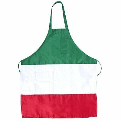 "Italian Three Panel Full Length Bib Apron with Pockets 32"" X 28"""
