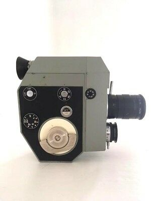 Vintage Quarz 5 8mm CINE MOVIE CAMERA.  Working,boxed with accessories