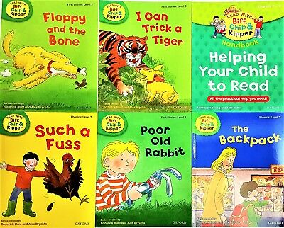 Oxford Read with Biff,Chip & Kipper Level 1-6, Time Chronicles,Phonics,Stories