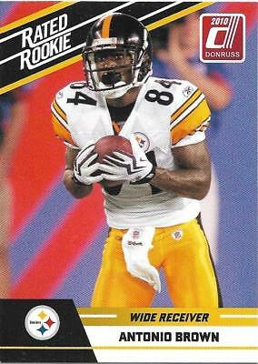 timeless design 32d04 c6542 NEW ANTONIO BROWN Pittsburgh Steelers #84 COLOR RUSH jersey ...