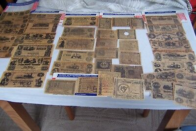 Large Lot of Reproduction Civil War Currency and More