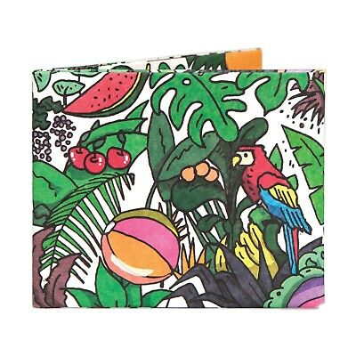 The Rainforest Magic Bifold Paper Wallet - The Walart - Mighty Tyvek Dynomighty