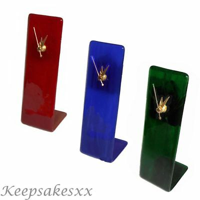 Glass Clock by Berserks Glass UK - Solo Lounge design in Red, Blue & Green