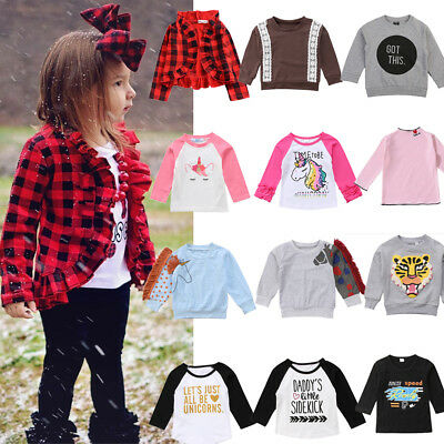 Toddler Kid Baby Girl Boy Long Sleeve Coat Jacket Outwear Top Sweatshirt Clothes